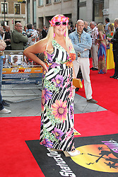 © Licensed to London News Pictures. 01/07/2013. London, UK. Vanessa Feltz, Bula Quo UK film premiere, Odeon West End cinema Leicester Square, London. Photo credit: Richard Goldschmidt/LNP