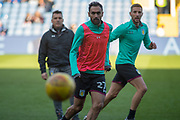 Aston Villa Midfielder Ahmed Elmohamady warms up for the EFL Sky Bet Championship match between Sheffield Wednesday and Aston Villa at Hillsborough, Sheffield, England on 24 February 2018. Picture by Craig Zadoroznyj.