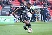Colchester United defender Kane Vincent-Young (12)   during the EFL Sky Bet League 2 match between Doncaster Rovers and Colchester United at the Keepmoat Stadium, Doncaster, England on 15 October 2016. Photo by Simon Davies.