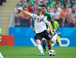 MOSCOW, RUSSIA - Sunday, June 17, 2018: Germany's Timo Werner during the FIFA World Cup Russia 2018 Group F match between Germany and Mexico at the Luzhniki Stadium. (Pic by David Rawcliffe/Propaganda)