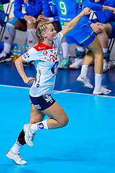 02-12-2019 JAP: Slovenia - Norway, Kumamoto<br /> Second day 24th IHF Womenís Handball World Championship, Slovenia lost the second match against Norway with 20 - 36. / Marit Rosberg Jacobsen #20 of Norway