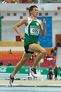 Ashgabat, Turkmenistan - 2017 September 18:<br /> while Indoor Athletics competition during 2017 Ashgabat 5th Asian Indoor & Martial Arts Games at Indoor Athletics Arena (ATH) at Ashgabat Olympic Complex on September 18, 2017 in Ashgabat, Turkmenistan.<br /> <br /> Photo by © Adam Nurkiewicz / Laurel Photo Services