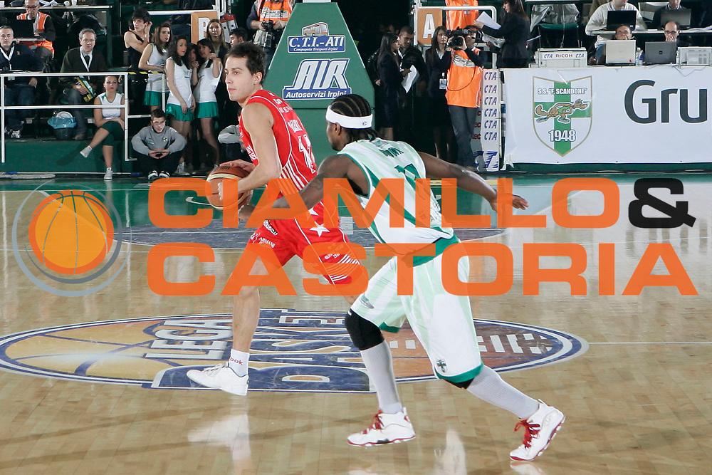 DESCRIZIONE : Avellino Final 8 Coppa Italia 2010 Quarto di Finale Armani Jeans Milano Air Avellino<br /> GIOCATORE : Massimo Bulleri<br /> SQUADRA : Armani Jeans Milano<br /> EVENTO : Final 8 Coppa Italia 2010 <br /> GARA : Armani Jeans Milano Air Avellino<br /> DATA : 18/02/2010<br /> CATEGORIA : palleggio<br /> SPORT : Pallacanestro <br /> AUTORE : Agenzia Ciamillo-Castoria/A.De Lise<br /> Galleria : Lega Basket A 2009-2010 <br /> Fotonotizia : Avellino Final 8 Coppa Italia 2010 Quarto di Finale Armani Jeans Milano Air Avellino<br /> Predefinita :