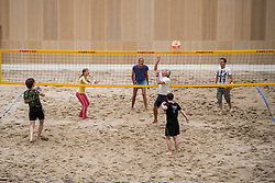 21-07-2018 NED: CEV DELA Beach Volleyball European Championship day 7<br /> Side events in de indoor beach hal, beachvolleybal