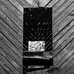 The old boards on the side of a barn  almost always have interesting textures.