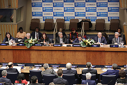 November 19, 2018 - New York, NY, USA - United Nations, New York, USA, November 19, 2018 - The 8th Global Forum of the United Nations Alliance of Civilizations on #Commit2Dialogue: Partnerships for Prevention and Sustaining Peace today at the UN Headquarters in New York..Photo: Luiz Rampelotto/EuropaNewswire (Credit Image: © Luiz Rampelotto/ZUMA Wire)
