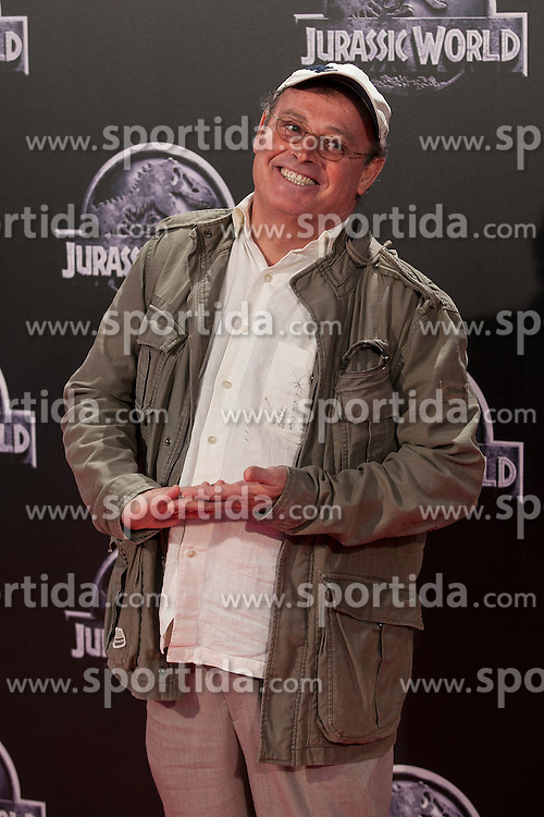 11.06.2015, Madrid, ESP, Jurassic World, Premiere, im Bild Pablo Carbonell // attends // to the Jurassic World film premiere in Madrid, Spain on 2015/06/11. EXPA Pictures &copy; 2015, PhotoCredit: EXPA/ Alterphotos/ Victor Blanco<br /> <br /> *****ATTENTION - OUT of ESP, SUI*****