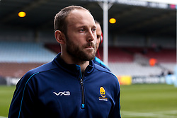 Chris Pennell of Worcester Warriors arrives at Harlequins - Mandatory by-line: Robbie Stephenson/JMP - 16/02/2019 - RUGBY - Twickenham Stoop - London, England - Harlequins v Worcester Warriors - Gallagher Premiership Rugby