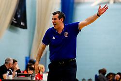 Bristol Flyers head coach Andreas Kapoulas - Photo mandatory by-line: Robbie Stephenson/JMP - 10/04/2019 - BASKETBALL - UEL Sports Dock - London, England - London Lions v Bristol Flyers - British Basketball League Championship