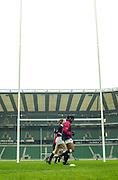 Twickenham, England, RFU Stadium, Surrey. <br /> Photo Peter Spurrier<br /> 10/05/2002<br /> Sport - Rugby - RFU Women's Rugby Team, training  at the RFU Stadium Twickenham.  [Mandatory Credit:Peter SPURRIER/Intersport images]