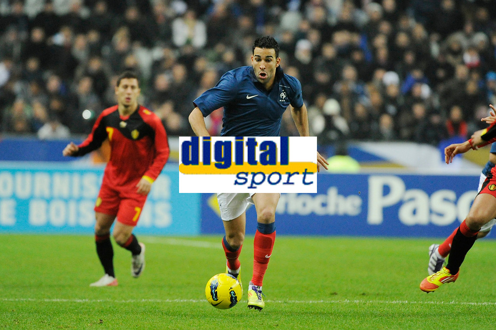 FOOTBALL - FRIENDLY GAME 2011 - FRANCE v BELGIUM - 15/11/2011 - PHOTO JEAN MARIE HERVIO / DPPI - ADIL RAMI (FRA)