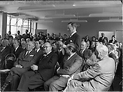 19/09/1952<br /> 09/19/1952<br /> 19 September 1952<br /> New premises forNational Cash Register Co. Ltd. New premises opening at South Circular Road Kilmainham attended by Sean Lemass, Minister for Industry and Commerce.