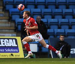 Bristol City's Scott Wagstaff - Photo mandatory by-line: Dougie Allward/JMP - Mobile: 07966 386802 - 08/11/2014 - SPORT - Football - Gillingham - Priestfield Stadium - Gillingham v Bristol City - FA Cup - Round One