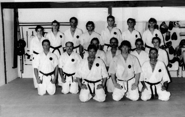 Photographs taken from 1985 to 2009 at various Dojo of Sensei Terry Lyon 5th Dan, Training sessions, Gasshuku with Sensei Graham Ravey 7th Dan,Sensei Morio Higaonna 10th Dan, Cottesloe Dojo.