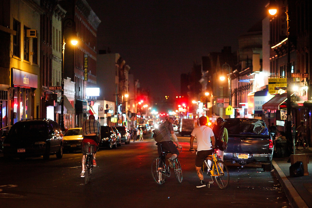 Greenpoint, Brooklyn cycling