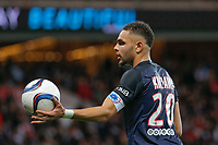 Layvin Kurzawa (psg) during the French Championship Ligue 1 football match between Paris Saint Germain and Toulouse FC on November 7, 2015 at Parc des Princes stadium in Paris, France. Photo Stephane Allaman / DPPI
