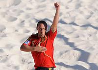 FIFA BEACH SOCCER WORLD CUP 2008 SPAIN - JAPAN   22.07.2008 NICO (ESP) celebrates his goal.
