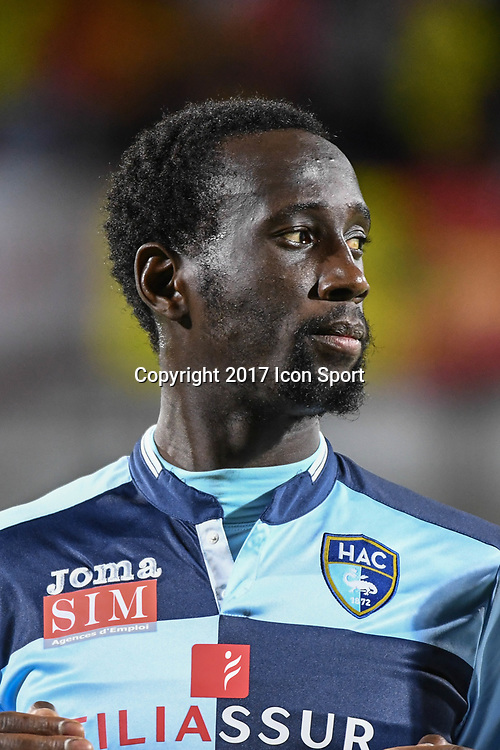 SAmba Camara of Le Havre during the Ligue 2 match between Quevilly Rouen and Le Havre on October 27, 2017 in Rouen, France. (Photo by Anthony Dibon/Icon Sport)
