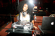 DJ Bevely Bond at An evening with Dave Chappelle for Kevin Powell for Congress held at Eugene's on July 9, 2008..Kevin Powell runs as a Democratic Candidate for Congress in Brooklyn's 10th Congressional District