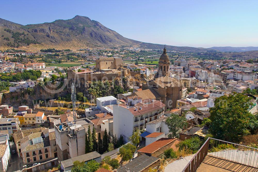 Alberto Carrera, Loja, Medieval Village, Granada, Andalucía, Spain, Europe