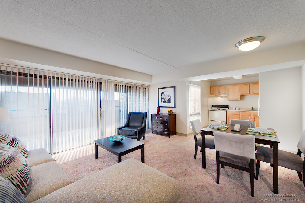 Interior photo of Courts at Walker Mill Apartments  in Washington DC by Jeffrey Sauers of Commercial Photographics, Architectural Photo Artistry in Washington DC, Virginia to Florida and PA to New England