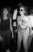 Paula and her friend at a rave, High Wycombe, UK, 1980s.