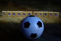 Rio de Janeiro-Brazil March 262020, dark times in world football with the arrival of the coronavirus (covid19)