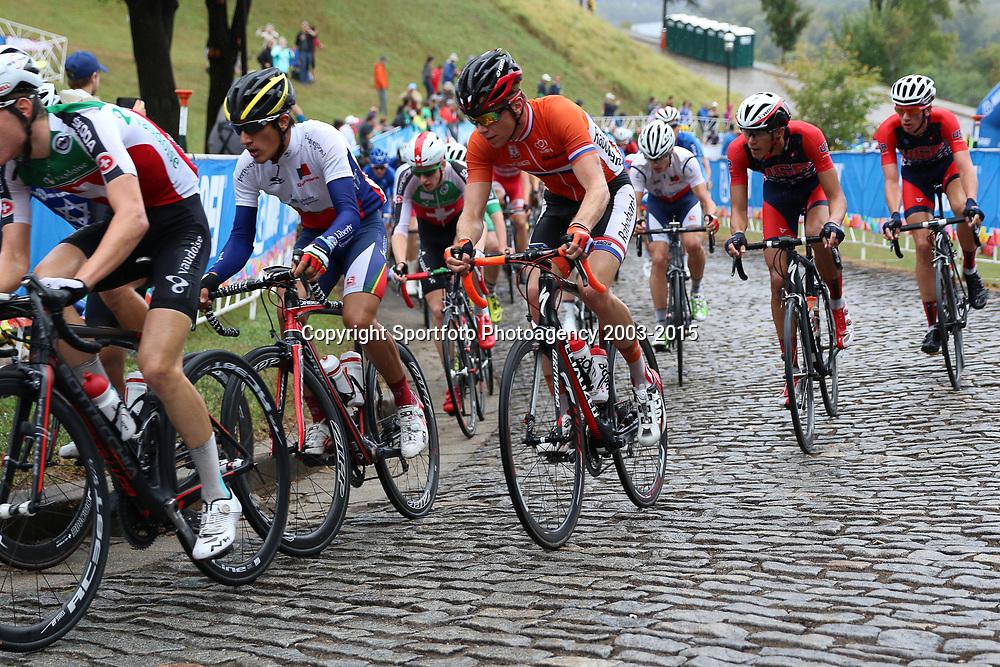 RICHMOND (USA) wielrennen<br /> Dennis van der Horst in de beklimming van Libby Hill