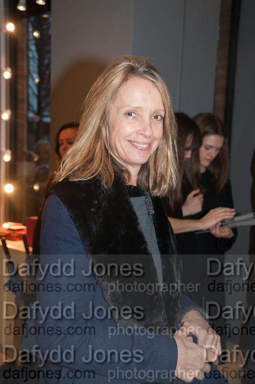 SABRINA GUINNESS, Smythson Sloane St. Store opening. London. 6 February 2012.