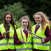 03.04.2017        <br /> Laurel Hill Secondary School, Limerick takes part in TLC3. <br /> Pictured are students, Chloe McGovern, Rachel Macken and Ciara Reidy. Picture: Alan Place.