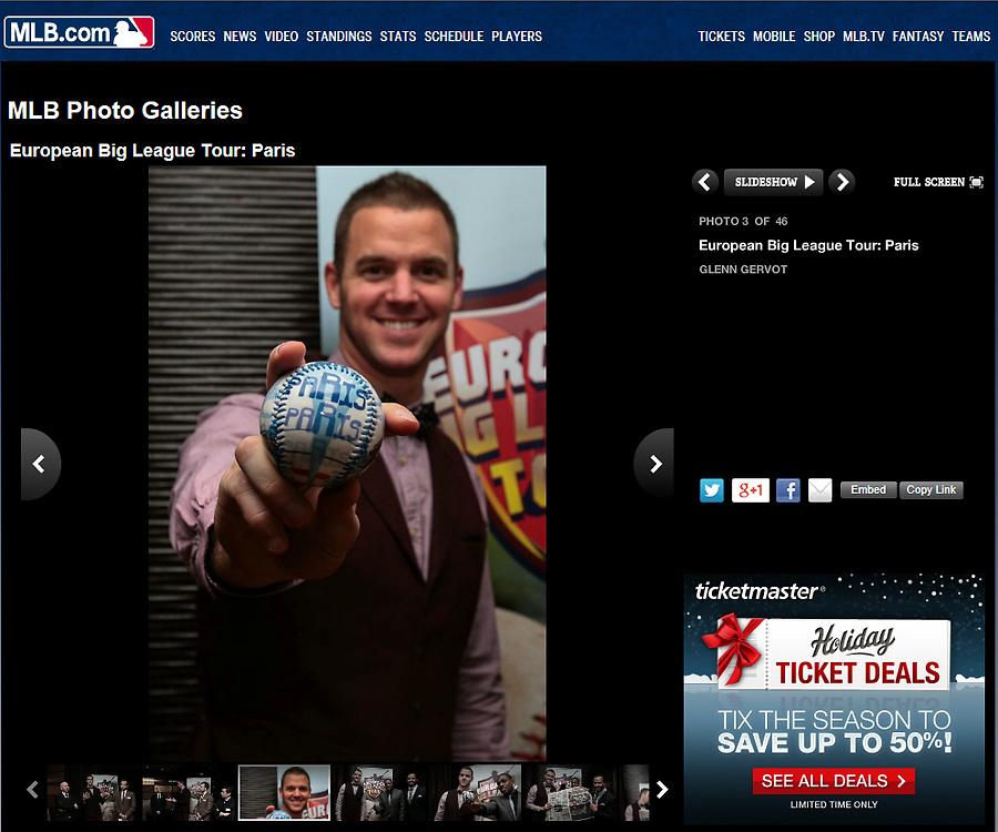 Rick Vandenhurk, Major League Baseball, 2013.