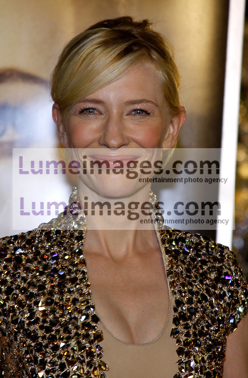 Cate Blanchett at the Los Angeles premiere of 'The Curious Case Of Benjamin Button' held at the Mann's Village Theater  in Westwood on December 8, 2008. Credit: Lumeimages.com
