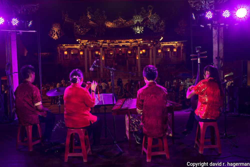 performers at Khoo Kongsi, George Town, Penang, Malaysia