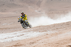 Stefan Svitko (SVK) of Slovnaft Rally Team races during stage 04 of Rally Dakar 2019 from Arequipa to o Tacna, Peru on January 10, 2019 // Marcelo Maragni/Red Bull Content Pool // AP-1Y39EN2P51W11 // Usage for editorial use only // Please go to www.redbullcontentpool.com for further information. //