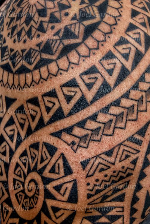 polynesian tribal tattoos joel gordon photography