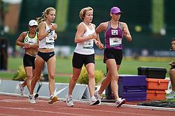 Olympic Trials Eugene 2012: women's 20,000 meter race walk, Gray leads Michta, laps Burnett