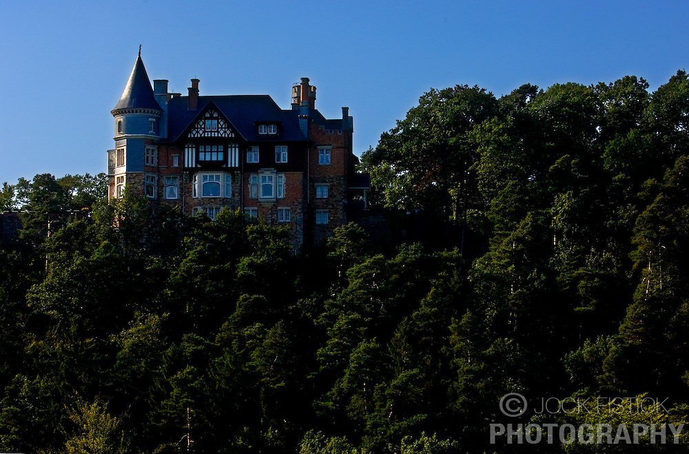 SPA, BELGIUM - AUGUST-17-2005 -  One of the many grand villas that overlook Spa. (Photo © Jock Fistick)