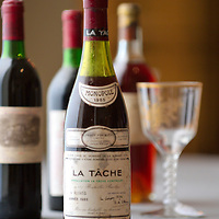 London Thu 29th Jan   Bonhams Bond Street  Photocall for  First London Wine Auction of the years of Claret from 1945 to 2005  Top Lots include  a bottle  La Tache  1985 value £1800-2000  - 3 Dozen  Chateau Lafite 1982 £ 12,000 per dozen - 1 Botttle Chateau Yquem  1944 £ 200...Standard Rates Apply.XianPix Pictures  Agency  tel +44 (0) 845 050 6211 e-mail sales@xianpix.com www.xianpix.com
