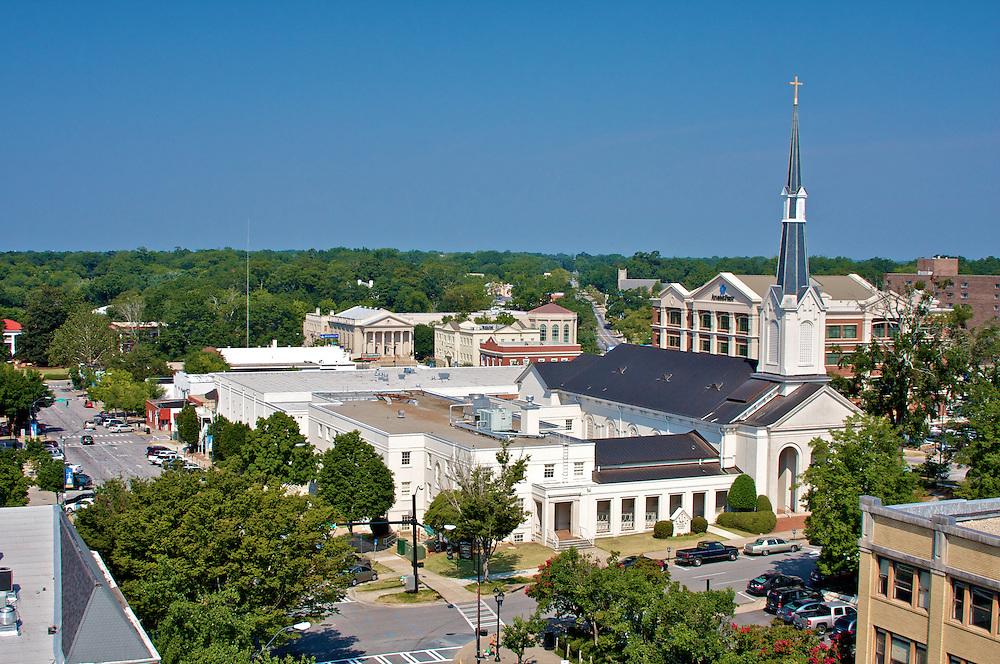 Athens, GA, Lumpkin and Washington Streets