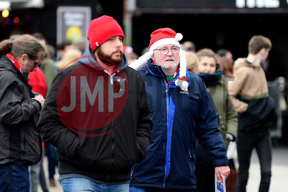 Bristol City fans arrive at Ashton Gate for the Boxing Day game against Reading - Mandatory by-line: Dougie Allward/JMP - 26/12/2017 - FOOTBALL - Ashton Gate Stadium - Bristol, England - Bristol City v Reading - Sky Bet Championship