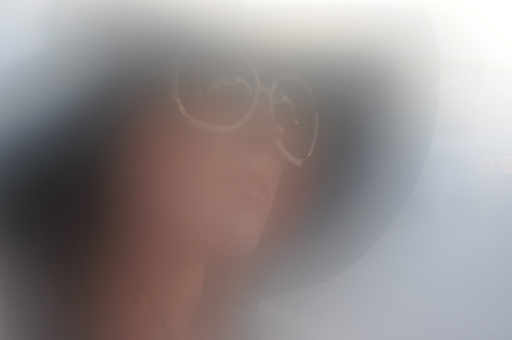 Cassandra in Lauderdale Fog. Brian James Gallery Photography.