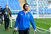 Romain Vincelot (6) of Bradford City arrives at Fratton Park stadium before the EFL Sky Bet League 1 match between Portsmouth and Bradford City at Fratton Park, Portsmouth, England on 28 October 2017. Photo by Graham Hunt.