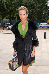 Lady Victoria Hervey attends the front row for the Matthew Williamson show LFW Spring/Summer 2013, at Cannon Place London. UK. 16/09/2012<br />BYLINE MUST READ : GOTCHAIMAGES.COM<br /><br />Copyright by © Gotcha Images Ltd. All rights reserved.<br />Usage of this image is conditional upon the acceptance <br />of Gotcha Images Ltd, terms and conditions available at<br />www.gotchaimages.com
