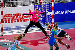 02-12-2019 JAP: Slovenia - Norway, Kumamoto<br /> Second day 24th IHF Womenís Handball World Championship, Slovenia lost the second match against Norway with 20 - 36. / Amra Pandzic #21 of Slovenia