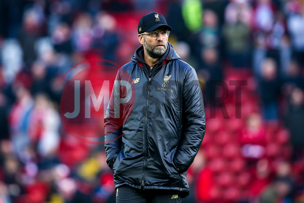 Liverpool manager Jurgen Klopp - Mandatory by-line: Robbie Stephenson/JMP - 26/12/2018 - FOOTBALL - Anfield - Liverpool, England - Liverpool v Newcastle United - Premier League