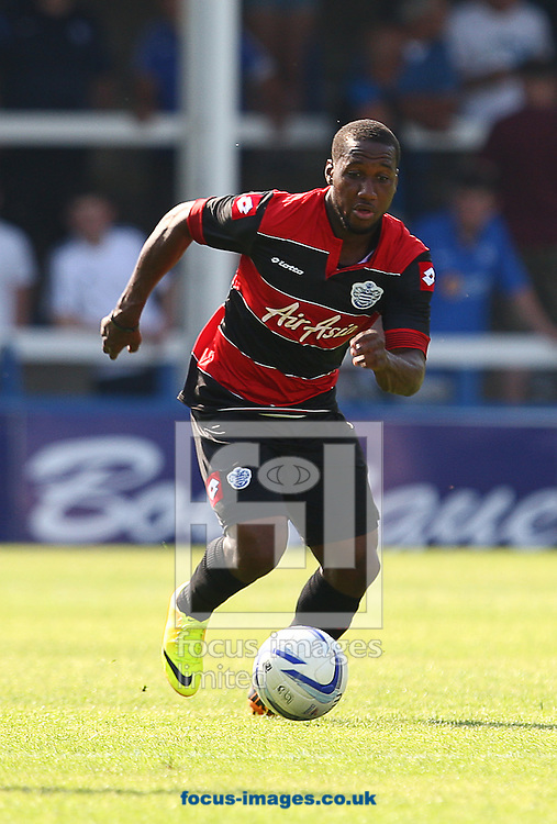 Picture by Rob Fisher/Focus Images Ltd +44 7450 945824<br /> 13/07/2013<br /> Junior Hoilett of Queens Park Rangers during the pre season friendly match at London Road, Peterborough.