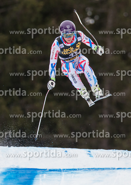 16.12.2015, Saslong, Groeden, ITA, FIS Ski Weltcup, Herren, Abfahrt, 1. Training, im Bild Blaise Giezendanner (FRA) // Blaise Giezendanner of France in action 1st downhill practice of the Groeden FIS Ski Alpine World Cup at the Saslong Course in Gardena, Italy on 2015/12/16. EXPA Pictures © 2015, PhotoCredit: EXPA/ Johann Groder