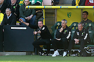 Picture by Paul Chesterton/Focus Images Ltd.  07904 640267.11/03/12.Norwich Manager Paul Lambert during the Barclays Premier League match at Carrow Road Stadium, Norwich.