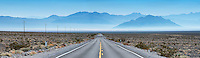 Endless highways, Inyo County, California