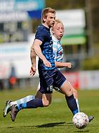 FODBOLD: Jakob Bonde (Nykøbing FC) under kampen i NordicBet Ligaen mellem Nykøbing FC og FC Helsingør den 7. maj 2017 i Nykøbing Falster Idrætspark. Foto: Claus Birch